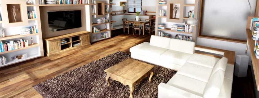 Books living room